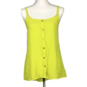 Forever 21Small Blouse Yellow Sleeveless Cami